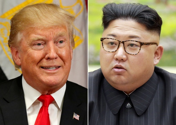 Tổng thống Mỹ Donald Trump và lãnh đạo Triều Tiên Kim Jong-un. Ảnh: AP, KCNA.
