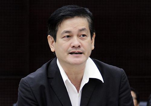TS Ngô Viết Nam Sơn đóng góp ý kiến tại hội thảo. Ảnh: Nguyễn Đông.