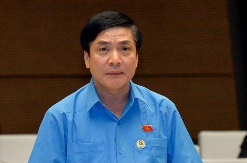 Ông Bùi Văn Cường, Chủ tịch Tổng Liên đoàn Lao động Việt Nam. Ảnh:QH