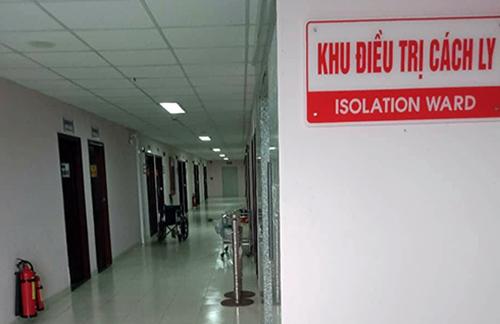 Khu vực cách ly, điều trị bệnh nhân cúm A/H1N1 tại Bệnh viện đa khoa Cần Thơ. Ảnh: Cửu Long