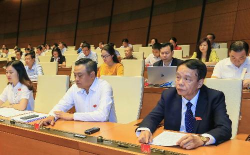 Quốc hội thông qua Luật An ninh mạng với hơn 86% đại biểu tán thành