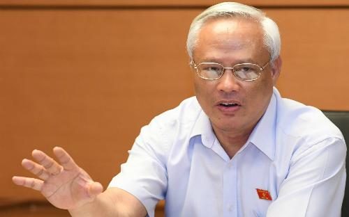 Phó chủ tịch Quốc hội Uông Chu Lưu. Ảnh: Hoàng Phong