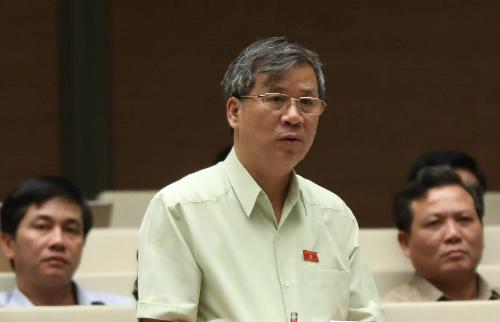 Đại biểu Nguyễn Anh Trí. Ảnh: Hoàng Phong