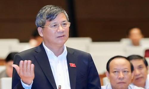 Đại biểu Nguyễn Anh Trí. Ảnh: QH.