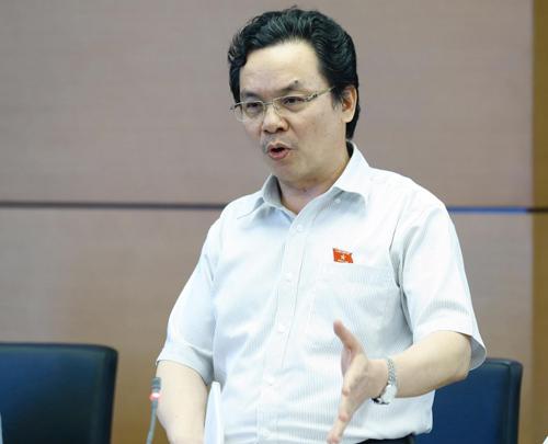 Hiệu phó ĐH Kinh tế Quốc dân Hà Nội Hoàng Văn Cường. Ảnh: Hoàng Phong.