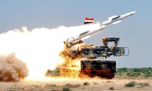 Một tổ hợp Pansir-S1 của Syria. Ảnh: Alamasdar News.