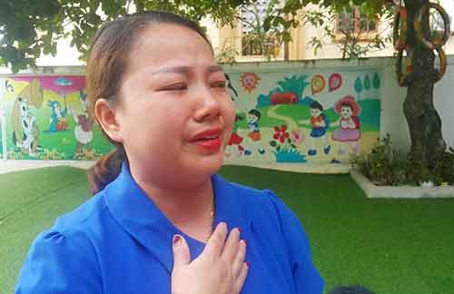Doanh nghiệp bị nghi dàn dựng cho giáo viên quỳ trước mặt cán bộ - ảnh 3