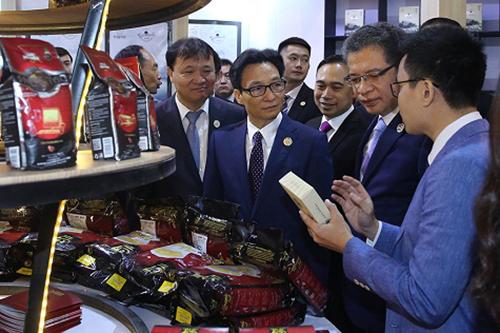 Phó thủ tướng Vũ Đức Đam dự lễ khai mạc hội chợ Trung Quốc - Nam Á - ảnh 1