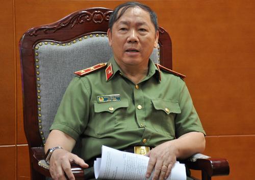 Trung tướng Hoàng Phước Thuận, Cục trưởng An ninh mạng. Ảnh:Viết Tuân