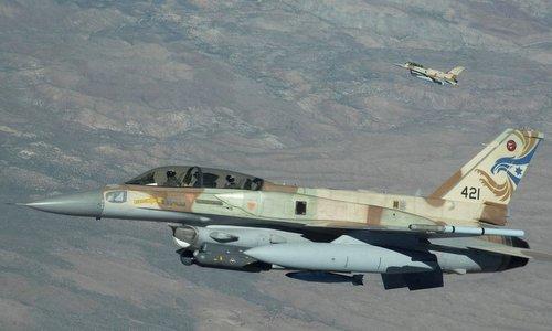 Tiêm kích F-16 Israel trong một lần xuất kích năm 2016. Ảnh: IAF.