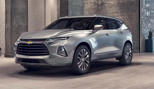 Chevrolet Blazer thế hệ mới.