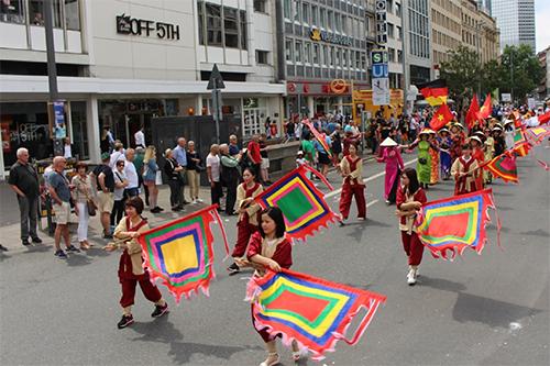 Cộng đồng người Việt quảng bá văn hóa tại Đức