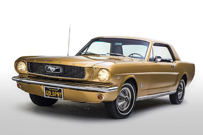 Thị trường xe - Ford Mustang Gold Rush - 'Ngựa hoang' phiên bản hoàng kim (Hình 2).