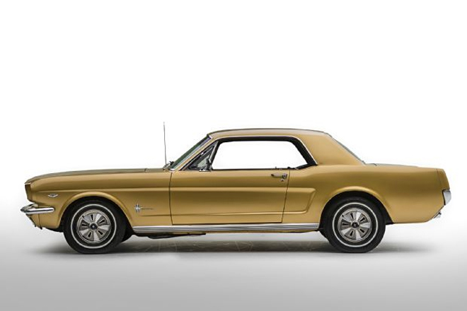 Thị trường xe - Ford Mustang Gold Rush - 'Ngựa hoang' phiên bản hoàng kim (Hình 3).