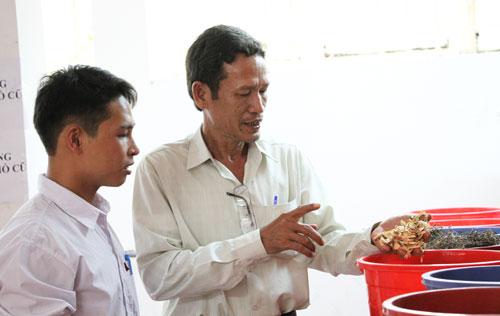 Học viên Y sĩ y học cổ truyền một trường trung cấp tại TP HCM. Ảnh: Mạnh Tùng.
