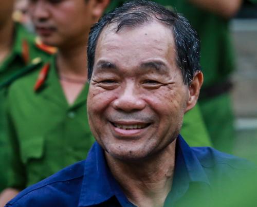 Ông Trầm Bê trong lần ra toà hồi tháng 2. Ảnh: Thành Nguyễn.
