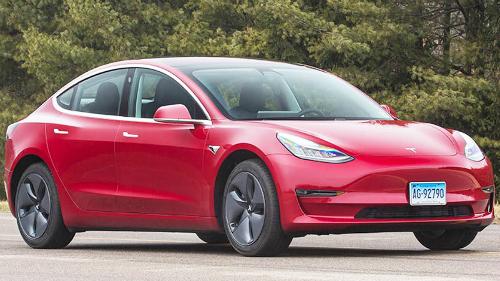 Tesla Model 3 - một trong những mẫu xe CR tự bỏ tiền mua. Tại Mỹ, Model 3 có giá 35.000 USD. Ảnh: Consumer Reports.