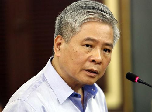 Ông Đặng Thanh Bình tại tòa hôm nay. Ảnh: Thành Nguyễn.