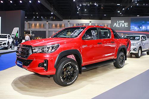 Toyota Hilux 2018 sẽ có những thay đổi nhẹ ở kiểu dáng.