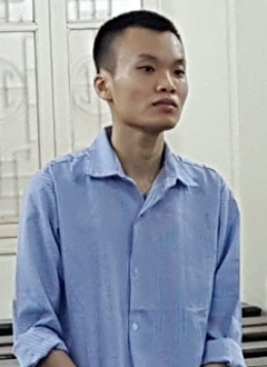 Bị cáo Đạt tại TAND Hà Nội.