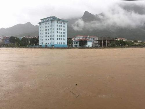 Tỉnh Hà Giang đã đề nghị cơ quan chức năng làm rõ có hay không sự liên quan của các nhà máy thuỷ điện đến sự cố lũ lụt vừa qua. Ảnh: Huyền Anh.