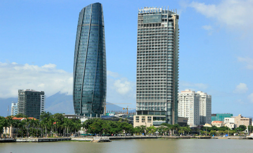 Trung tâm hành chính Đà Nẵng (tòa nhà hình tròn). Ảnh: Nguyễn Đông.