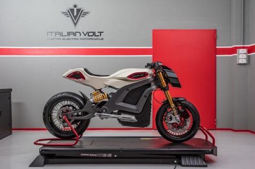 Volt Lacama, môtô điện độc đáo từ Italy