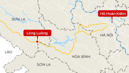 Lóng Luông là điểm nóng ma túy của Sơn La và Hòa Bình, cách Hà Nội khoảng 170 km, nhưng khó thâm nhập do là đường độc đạo, hiểm trở.