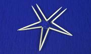 Làm thế nào để que tăm gãy tự xếp hình ngôi sao?