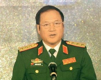 Thượng tướng Phương Minh Hòa. Ảnh: Tạp chí Quốc phòng.