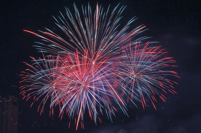 Italy tiếp tục vô địch Lễ hội pháo hoa quốc tế Đà Nẵng