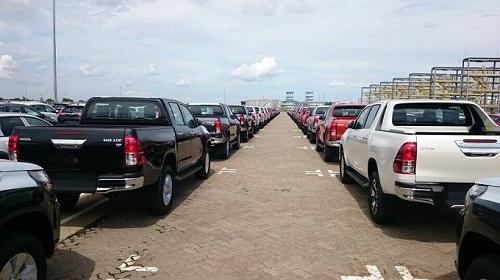 Thêm nhiều xe bán tải được nhập khẩu về Việt Nam.
