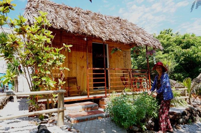 Ba homestay từ sặc sỡ đến view biển ở đảo Bé, Lý Sơn