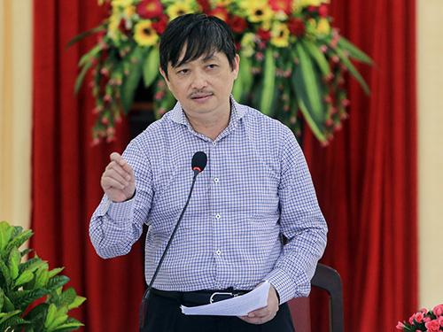 Ông Đặng Việt Dũng - Trưởng Ban Tuyên giáo Thành ủy Đà Nẵng. Ảnh: Nguyễn Đông.