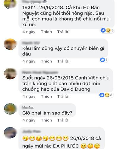 Những phản ánh liên tục của cư dân khu Phú Mỹ Hưng.