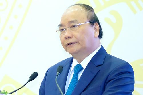 Thủ tướng Nguyễn Xuân Phúc. Ảnh: VGP/Quang Hiếu.