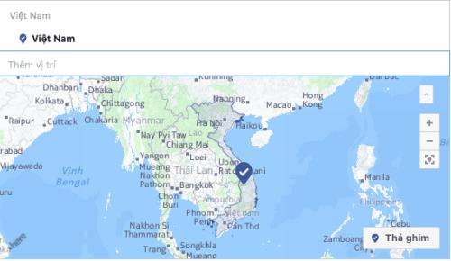 Phần bản đồ Việt Nam không có Hoàng Sa  Trường Sa