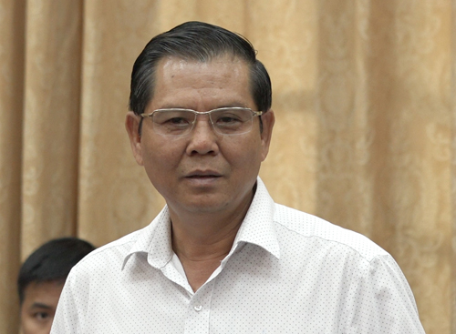 Tổng giám đốc đài PTTH Hà Nội Tô Quang Phán. Ảnh: Thế Quỳnh.