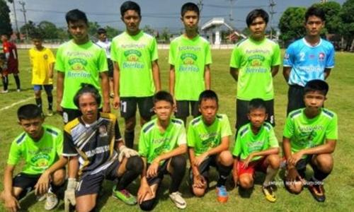 Đội bóng đá nhí Thái Lan. Ảnh: Facebook.