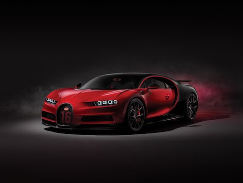 Chiron Sport là một trong những phiên bản đặc biệt được Bugatti sản xuất. Ảnh: Carscoops.