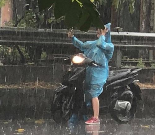 Niềm vui khi nắng hạn gặp mưa rào.