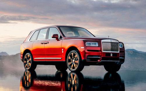 Rolls-Royce Cullinan, SUV siêu sang ra mắt hồi tháng 5/2018. Ảnh: Motor1.