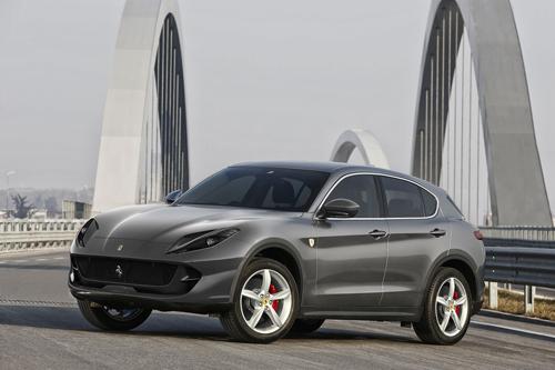 Ferrari, trước sức ép không nhỏ từ Lamborghini Urus và đặc biệt xu hướng của thị trường, quyết định sản xuất SUV. Ảnh phác họa xe đa dụng của Ferrari từ Autoevolution.