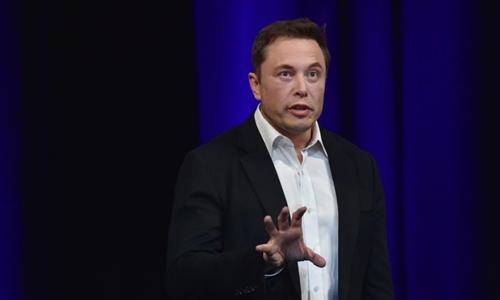 Tỷ phú Elon Musk. Ảnh: AFP.