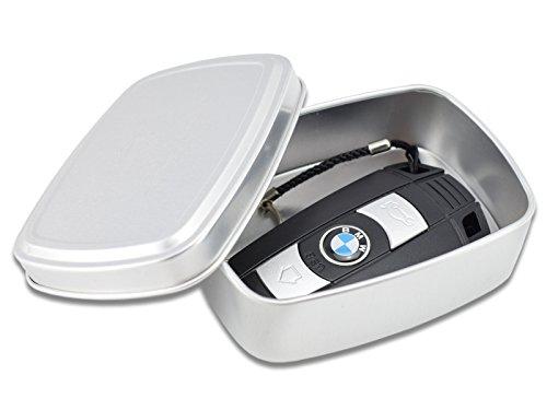 Một chiếc hộp bằng nhôm được rao bán trên mạng kèm lời quảng cáo ngăn kết nối tới chìa khóa thông minh - một cách để đề phòng xe hơi bị trộm. Ảnh: Amazon.
