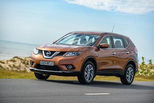 Nissan X-Trail, SUV cỡ C bán chạy nhất thế giới quý đầu 2018. Ảnh: Đức Huy.