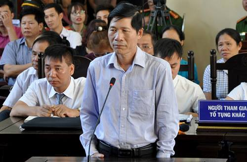 Ông Hoàng Đình Khiếu. Ảnh: Tòa án nhân dân Hòa Bình