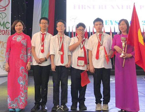 Việt Nam giành năm huy chương vàng Toán học trẻ quốc tế
