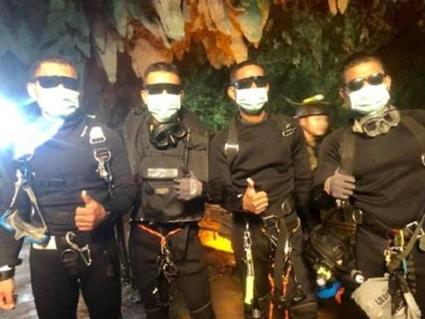 Các đặc nhiệm SEAL hải quân Thái Lan. Ảnh: CNN.