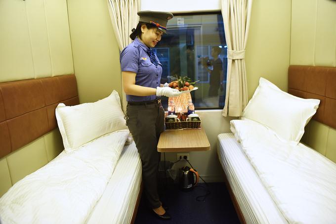 Toa xe có khoang hai giường lần đầu vận hành ở Việt Nam